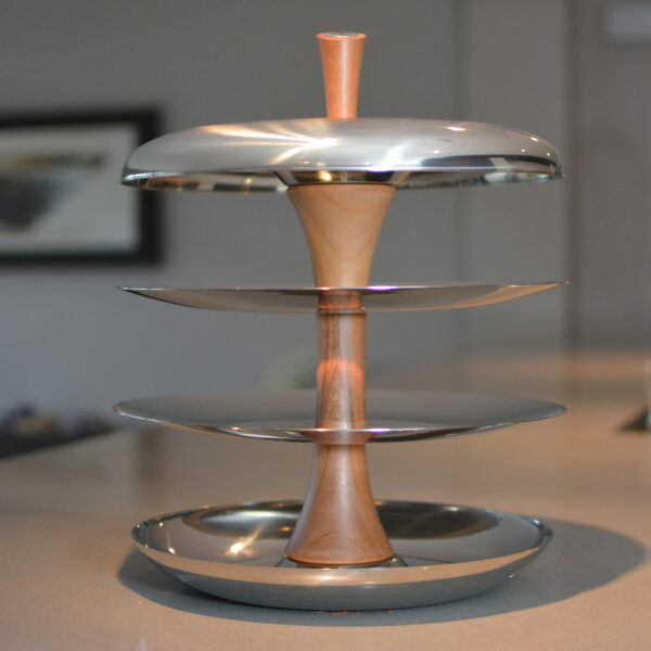 Stainless steel fruit tier