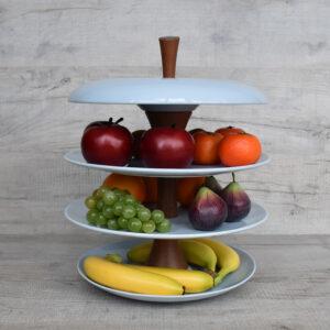 Apple-fruit-tier-ceramic-fruit-bowl-feather-blue